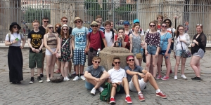 Rome-The Arch of Constantine . St David's School Edinburgh