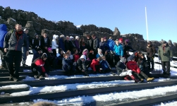Iceland-Year 11 All Saints Weymouth at Thingvellir National Park